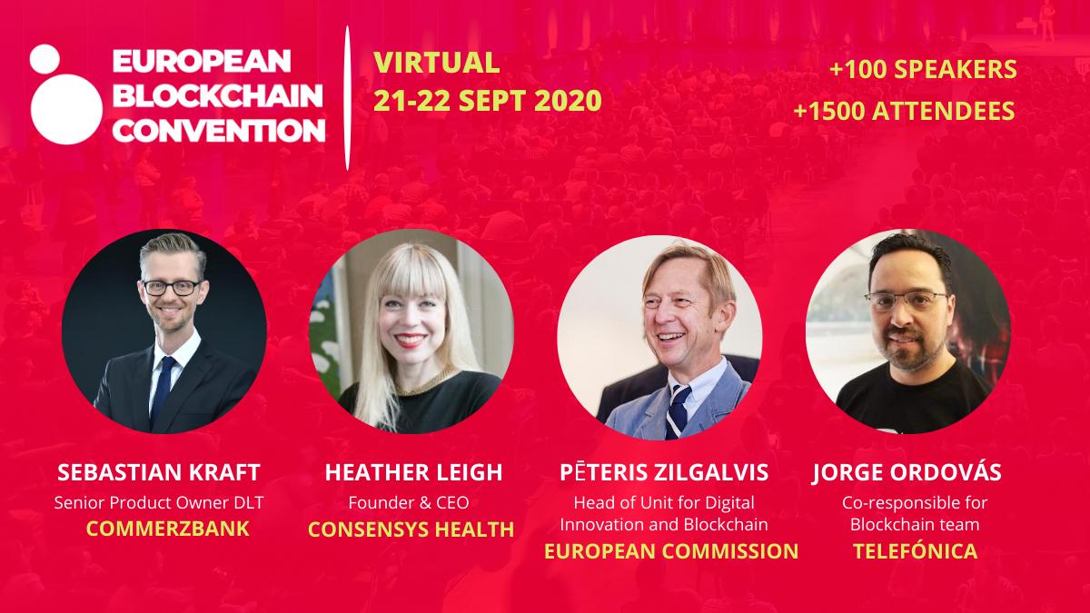 Top Speakers European Blockchain Convention
