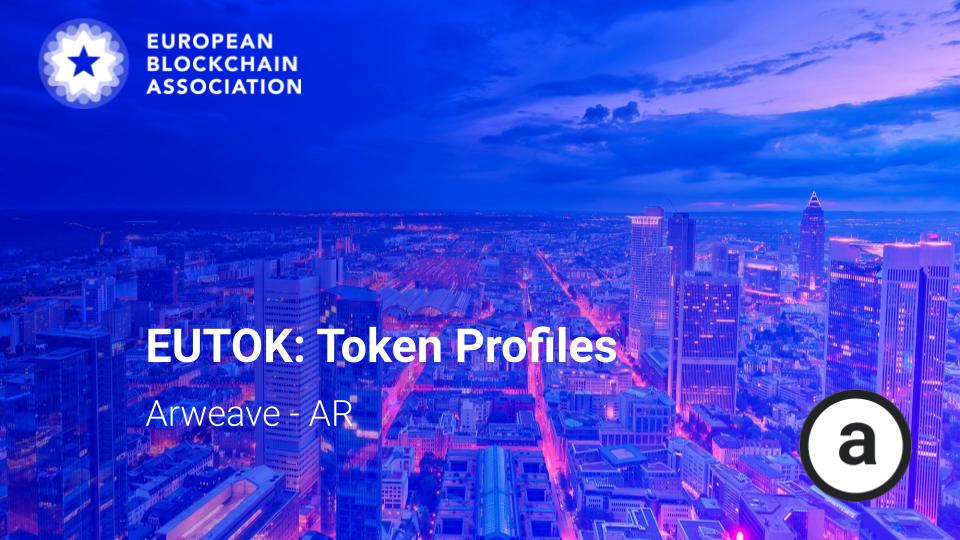 EUTOK Token Profiles: Arweave – AR